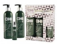 Набор с маслом чайного дерева / CHI Tea Tree Oil calming cleanse trio