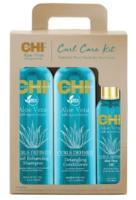 Набор для ухода за волосами с алоэ / Aloe Vera Curl Care Kit Set