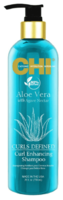 Шампунь для распутывания волос / CHI Aloe Vera Curls Defined Shampoo