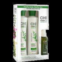 Набор для укрепления и роста волос / CHI Power Plus 3pc KIT