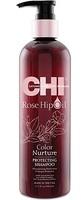 Защитный шампунь для окрашенных волос / CHI Rose Нip Oil protecting shampoo
