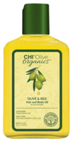 Шелковое масло с оливой / CHI Olive Organics Olive & Silk Hair and Body Oil